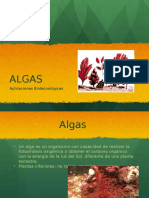 Algas Verdiazules