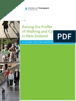 Raising the Profile Walking Cycling in Nz