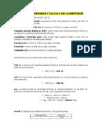 Factor de Demanda y Calculo Del Alimentador (1)