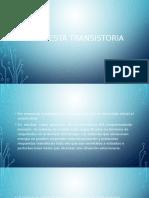 Respuesta Transistoria