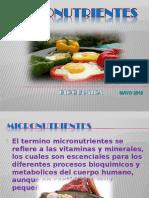 Exposicion - Bioquimica -Vitaminas Hidrosolubles- Obesidad y Sobrepeso