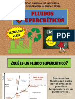 Fluidos supercríticos ppt