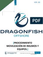 DF-PRT-OPE-002 Movilización de Insumos y Equipos