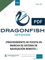 DF-PRT-OPE-004 Puesta en Marcha de Sistema de Navegacion Remoto