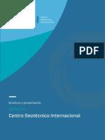 Brochure Centro Geotecnico Internacional v2