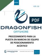 DF-PRT-OPE-014 Procedimiento Para La Puesta en Marcha de Equipo de Posicionamiento Acustico