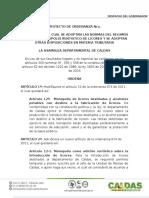 PROYECTO de ORDENANZA No. 028 Monopolio de Licores y Medidas Tributarias