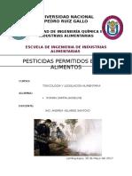 Pesticidas Permitidos
