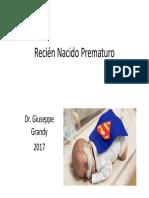 Recien Nacido Prematuro 2017
