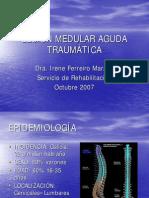 Lesion Medular AgudaTraumatica
