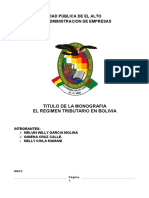 Monografia de Tributaria