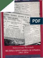 Aleksandar Rastović-Velika Britanija i Srbija 1903-1914
