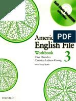 American English File 3 Workbook Answer Key (1)