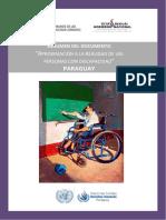 035 Resumen Del Documento - Aproximacion a La Realidad de Las Personas Con Discapacidad