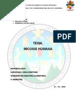 Micosis Humana