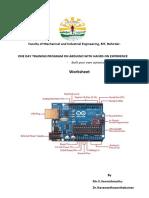 ardunino Worksheet