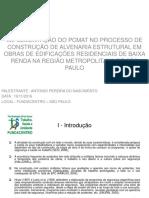 Semana Da Pesquisa Da Fundacentro - Antonio Pereira