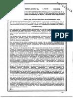 Res 2578 de 2012 (1)