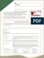Gateway A2 Practice Online