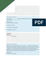 Quiz 1 - Proceso Administrativo