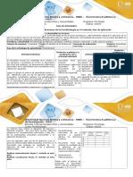 Guía de actividades y rúbrica de evaluación – Paso 3 – Aplicación(1).doc