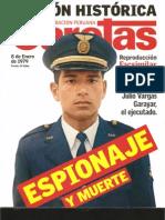 Espionaje y muerte. El caso Julio Vargas Garayar