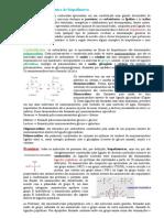 1 Estrutura Bioquímica de Biopolímeros