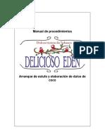 Manual de Procedimiento y Arranque de La Estufa