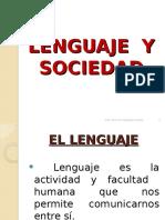 Lenguaje y Sociedad