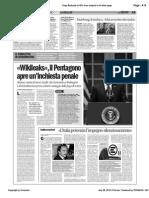 WIkileaks, rivelazioni sull'Italia. Da Calipari ai soldi per la ricostruzione