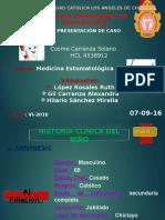 Caso Clinico Cosme Carranza