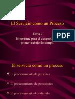 Tema 2 El Servicio Como Un Proceso