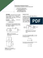 Practica prueba de vació y corto circuito