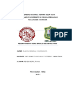 Quimica- Materiales de Laboratorio (Informe) 1