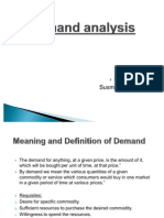 Swot Analysis of Demand