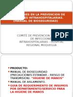 Precauciones en La Prevencion de Infecciones Intrahospitalarias