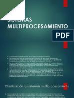 Sistemas Multiprocesamiento