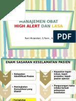 Manajemen Obat High Alert Lasa