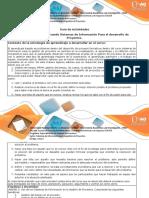 Guía Paso 4 - Usando Sistemas de Información Para El Desarollo de Proyectos