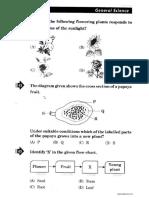 NSTSE Class III Question Paper 2013-2