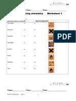 Worksheet T1