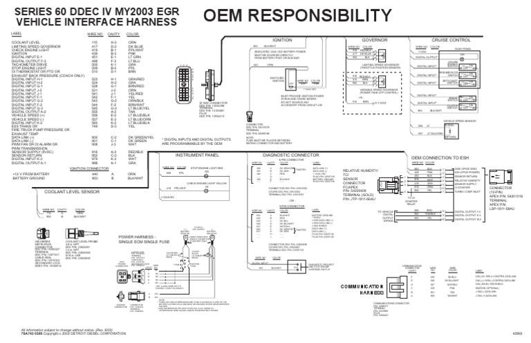Ddec 4 Wiring Diagram J1939 - Wiring Diagrams Show Jake Ke Wiring Diagram Ddec Iv on