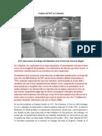 Gestión Del DDT en Colombia