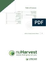 nuHarvest Brand Manual