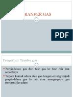 Tranfer Gas