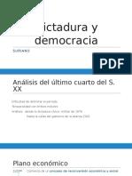 Dictadura y Democracia Ppt