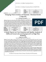 Damping Characteristics of Titanium- Titanium Boride Composite