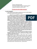 Documentos Funcionamento Dinamizacao BE