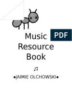 music resource book