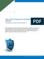 Atmel 8951 CryptoAuth RSA ECC Comparison Embedded Systems WhitePaper